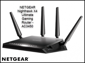 NETGEAR Nighthawk X4 Ultimate Gaming Router - AC3450