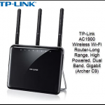 TP-Link AC1900 Wireless Wi-Fi Router-Long Range, High Powered, Dual Band, Gigabit (Archer C9)