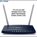 TP-Link AC1200 Wireless Wi-Fi Dual Band Fast Ethernet Router (Archer C50)