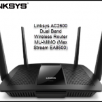 Linksys AC2600 Dual Band Wireless Router MU-MIMO (Max Stream EA8500)